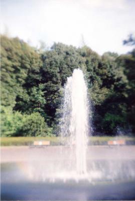 孤独な噴水