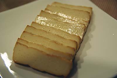 五箇山豆腐の燻製