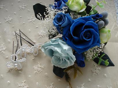 ブルーな薔薇