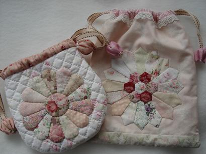 ドレスデンの巾着と袋