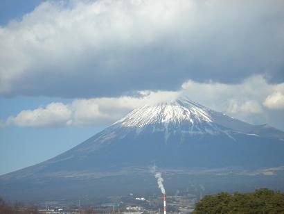 思わずときめく富士山