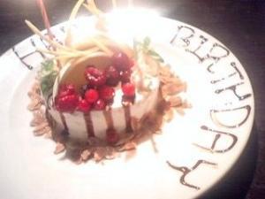花様ケーキ