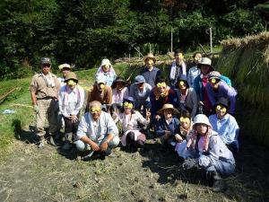 稲刈り仰木+066-2