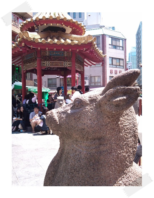 中華街狛犬