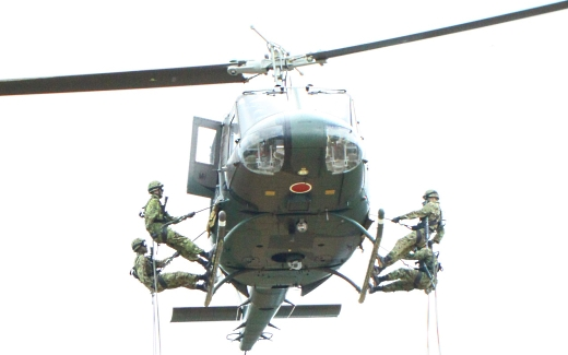 ヘリからの降下2