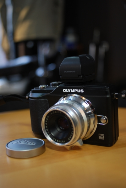 Leica Summaron 35mm F2.8/オリンパス ペン E-P2