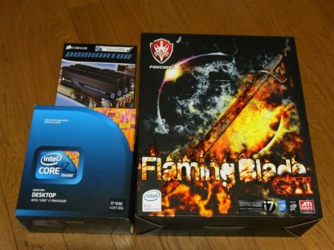 Core i7 930 & FlamingBlade GTI