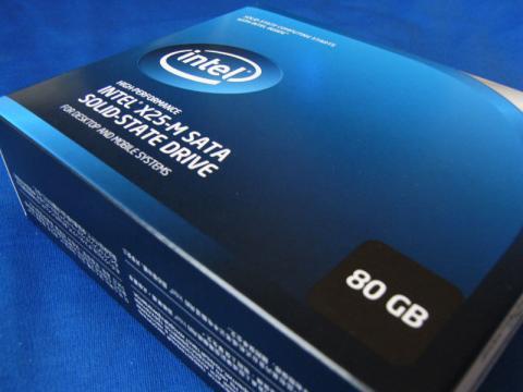 Intel X25-M SSDSA2MH080G2R5