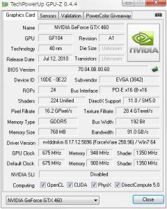 GPU-Z Before