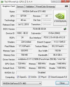 GPU-Z After