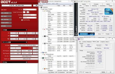 Core i7 930 (133x21) 1.00V