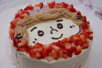 「パラダイスプリンス君」なケーキ