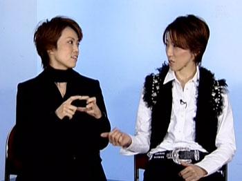 ちょっとモメ気味の水さんとユミコさん(笑)