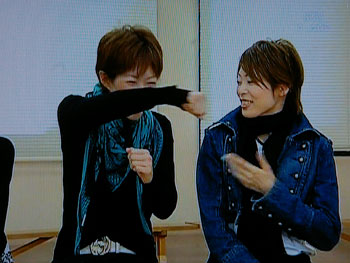 ちーちゃん:アランとアンドレの殴り合い