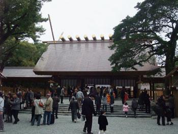 熱田神宮をお参り