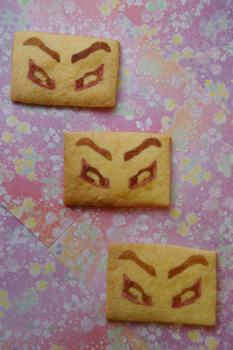 「戯伝写楽」なクッキー☆