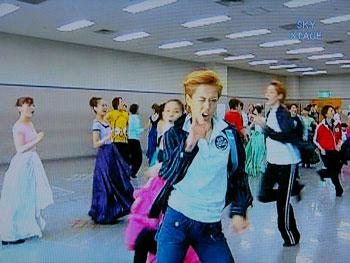 ダンシング・フォー・ユー:お稽古場 王子のウインク♪