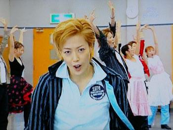 ダンシング・フォー・ユー:お稽古場 君を♪