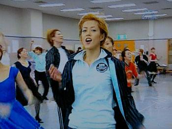 ダンシング・フォー・ユー:お稽古場 お!カメラ♪