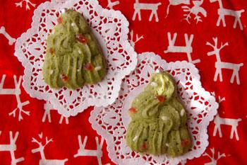 抹茶なクリスマスツリー☆