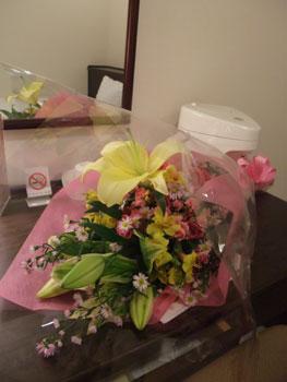 越谷公演でいただいたステキなお花☆