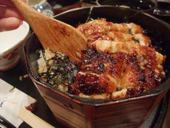 名古屋飯:ひつまぶし♪