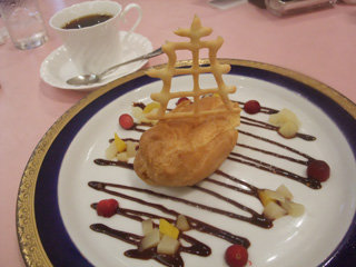 「トラファルガー」公演ランチ:デザート