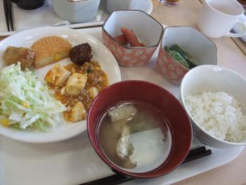 朝から麻婆豆腐なホテルの朝食