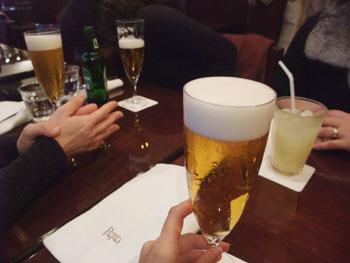 Lunch Beer♪