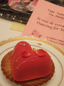 ベルサイユのばら:お茶会ケーキ