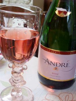 「ANDRE」という名のスパークリングワイン☆