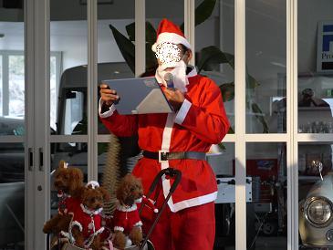 クリスマス会 サンタさん