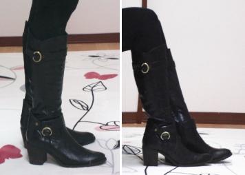 新しいブーツ