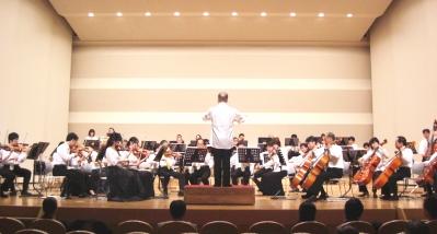 橿原交響楽団のオーケストラ