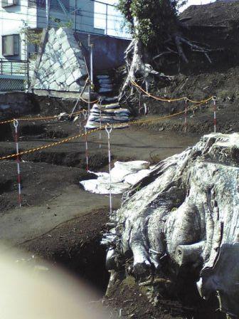 辻畑古墳神社の跡