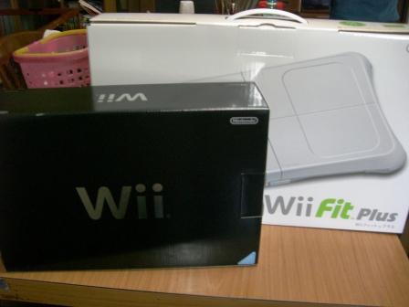 WiiとWiiFitPlus