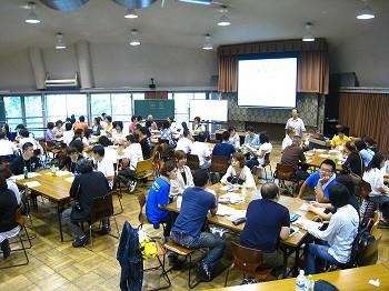 TCMN中医学ネットワーク2010小西喜郎先生によるグループワーク