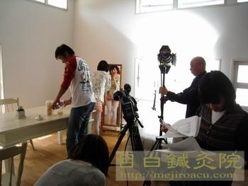 きれいの魔法2011年4月撮影風景3