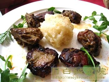 スペイン料理イレーネのラム肉料理