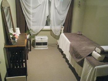 水月鍼灸院 内装
