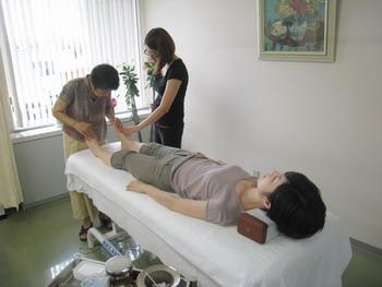 鍼灸研修風景2
