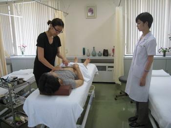 鍼灸研修風景1