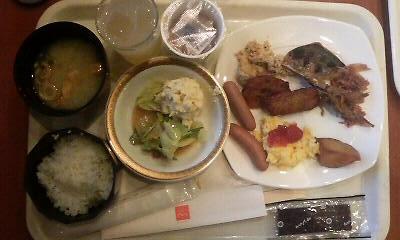 24日朝食