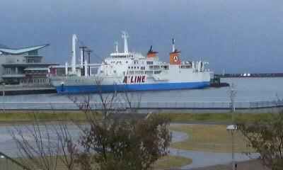 ドルフィンポートから見た船