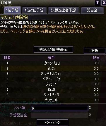 剣闘場画面