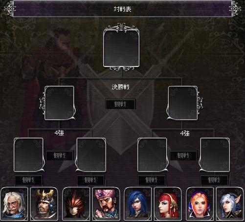 剣闘対戦表