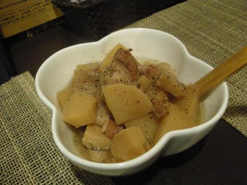 豚バラ肉とタケノコの炒め煮