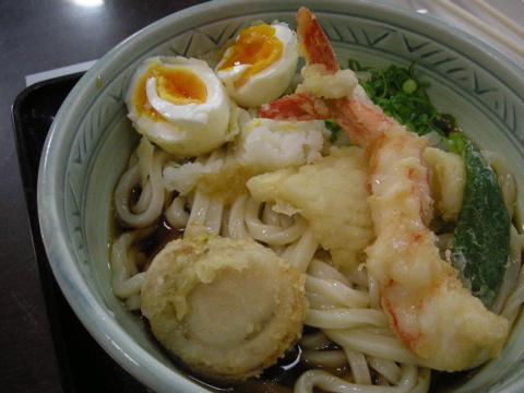 海鮮天ぷらぶっかけ
