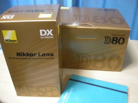 Nikon D80パッケージ