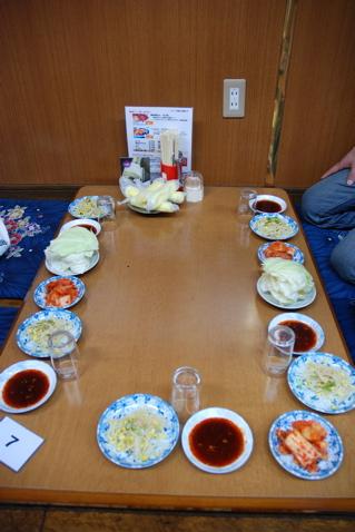テーブルセッティング